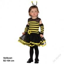 Dětský karnevalový kostým VČELKA MÁJA 92 - 104cm ( 3 - 4 roky )